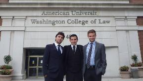 De gauche à droite : Maxime Huot, Luis Miguel Gutierrez, Max Grua